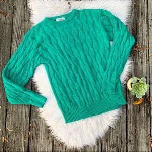 Pringle of Scotland Chunky Cable Knit Sweater